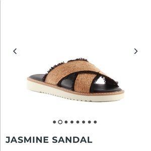 Seychelles Jasmine Sandal Black and Gold
